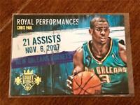 2013-14 Court Kings Basketball ROYAL PERFORMANCES #/175 - Chris Paul - HORNETS