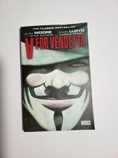 V for Vendetta by Alan Moore & David Lloyd Graphic Novel TPB