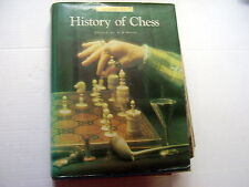 JERZY GIZYCKI: HISTORY OF CHESS~EDITED BY B.H. WOOD~REVISED 1977 ~INCL.  EXTRA'S
