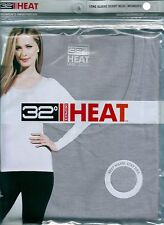 OFF 65% NEW Weatherproof 32 Degrees Heat Women's Baselayer Thermal Scoop Neck