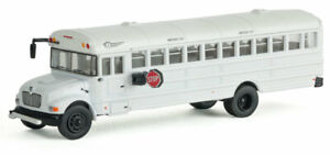 Walthers-International(R) MOW Crew Bus -- White w/Railroad Maintenance-of-Way Lo