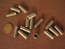 2 Raccords tube fileté acier zingué 10 x 1 . h 27 mm.