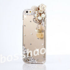 Glitter Luxury Bling Diamonds Stones gems hard PC back Phone Case Cover Skin #C