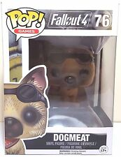 Funko Pop Dogmeat # 76 Flocked Fallout 4 Vinyl Figure Brand New