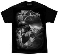 David Gonzales Art DGA Fresh Cut Precision Barber Shop Adult Mens T Tee Shirt