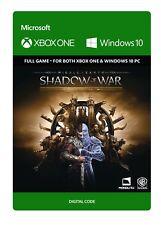 SHADOW OF WAR GOLD EDITION KEY CODE-XBOX ONE (mai utilizzati in modo Nuovo di Zecca)