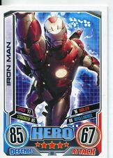 Marvel Hero Attax Series 2 Base Card #80 Iron Man