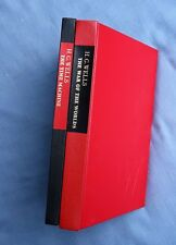 LEC: H. G. WELLS: WAR OF WORLDS AND TIME MACHINE, ILLUS BY JOE MUGNAINI SIGNED