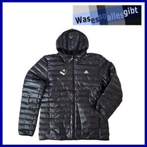 SCHNÄPPCHEN! adidas Varilite Hooded Down Jacket  schwarz  Gr.: L  #T 40272