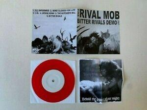 """The Rival Mob - rare Bitter Rivals Demo 7"""". Hardcore/Straight Edge/No Tolerance."""