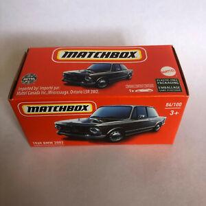 MATCHBOX 1969 '69 BMW 2002 84/100 MATTEL