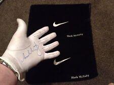 Mark McNulty Personalised Nike Shoe Bag And Signed Maxfli Glove