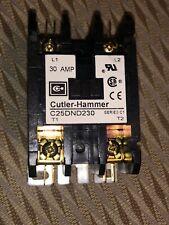 Cutler-Hammer C25DND230 Contactor 30amp