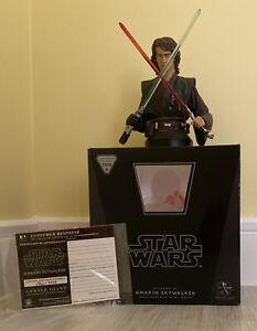Star Wars Anakin Skywalker Episode III Gentle Giant Mini Bust Ltd Edition 2008