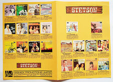 STETSON RECORDS COMPANY CATALOGUE 1980s re-releases of classic 1950s Country LPs