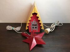 Vintage House Christmas Tree Garland Switch Breaker Star New Year Ussr Soviet A