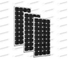 Set 3 x Pannelli Solari Fotovoltaico 300W Europeo 24V tot. 900W Casa Baita Stand