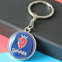 SAAB SCANIA BRAND NEW STYLISH METAL KEY RING KEYRING KEYCHAIN 93 95 9-3 9-5 9000