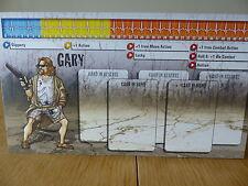 Zombicide-Gary-Carattere Pannello Di Controllo Card (solo scheda)