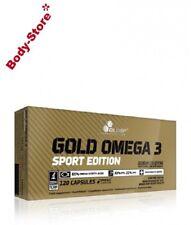 (8,23€/100g) Olimp Omega 3 Sport Edition 120 Kapseln Omega-3 Fettsäuren 151,2g