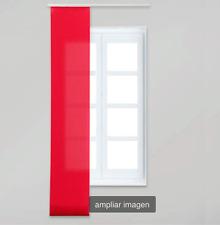 Rouge (Rojo) Japonais Tissu Panneau aveugle, 50 cm x 260 cm, Velcro Pour Facile Fermeture