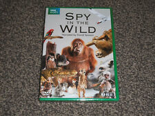 SPY IN THE WILD : 2017 DAVID TENNANT - NEW SEALED BBC EARTH DVD (FREE UK P&P)