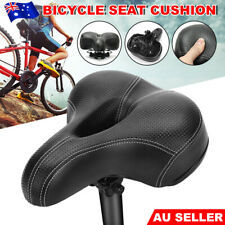 Bike Seat Bicycle Saddle Cover Road MTB Mountain Wide Padded Gel Cushion Comfort