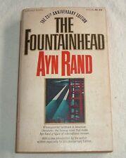 1968 THE FOUNTAINHEAD Ayn Rand 25th ANNIVERSARY EDITION Signet Papaerback Y3235
