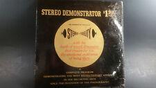 Rare Vintage Stereo Demonstrator LP