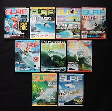 Transworld Surf Magazine 2007 Vol.9 Used Lot Of 9 Issues Surfer Surfing