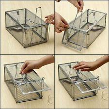 One Door Animal Trap Metal Steel Cage for Live Rodent Control Rat Mice Squirrel#