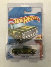 Hot Wheels 2020 L Case '69 Chevy Pickup Super Treasure Hunt Green w/Protector