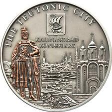 Kaliningrad HANSEATIC LEAGUE Hansa 5$ Cook Island Silver Coin 2010