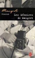 Les Memoires De Maigret [Ldp Simenon] [French Edition] [ Simenon, Georges ] Used