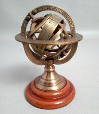 Antique Brass Tabletop Armillary Nautical Sphere Globes handmade Maritime gift
