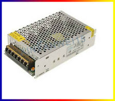 Universal DC 12V 10A Regulated Switching Power Supply Adapter For CCTV LED Radio