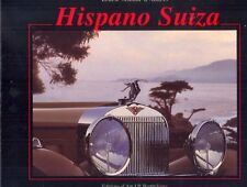 Hispano Suiza - RARE out-of-print book by Ernest Schmid d'Andres AS NEW!!