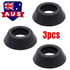 AU 3Pcs Plastic Black Ball Stand Display Holder for Basketball Football Rugby