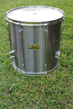 """ADD this PEARL EXPORT PRO 16"""" FLOOR TOM in SMOKEY CHROME to YOUR DRUM SET! #D656"""