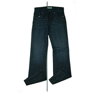 Gabba Unisex Jeans Hose Comfort Relax Bootcut Schlag 30/34 W30 L34 darkblue NEU