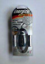 Energizer Energi To Go Instant Cell Phone Charger with LIthium Batteries, NIP