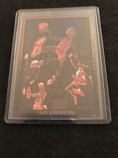RARE 1990 AIR EXPRESS MICHAEL JORDAN  CHICAGO BULLS CARD