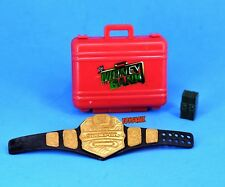 WWE Mattel Elite Figure Accessory Lot MITB Briefcase US Belt Cash Prop Weapon_g4