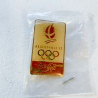 Albertville Coca Cola 92 Winter Olympics Collectible Pin New