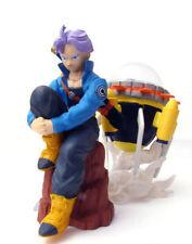 Bandai Dragon ball Z Imagination Gashapon Figure Part 6 Trunks & Time Machine