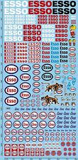 Esso Sponsor Sticket PP07 (195 X 90 MM) 1:43 Autocollant Décalcomanie
