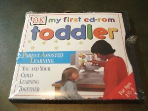DK My First CD-ROM: Toddler (PC-CD) AGES 1 1/2- 3 HOME SCHOOL/LEARNING AID