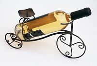 Metal Estante Botella Vino, Bicicleta Forma sujeta-botellas, Sobre Encimera Con