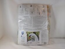 Vervaco Stamped Cross Stitch Pillow Kit - New - Swan