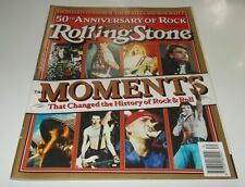 ROLLING STONE MAG ISSUE 630 50TH ANNIVERSARY OF ROCK WOODSTOCK  WILSON N.W.A